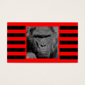 Angry Gorilla Business Card