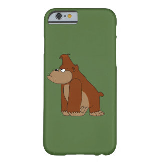 Angry gorilla barely there iPhone 6 case