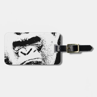 Angry Gorilla Luggage Tag