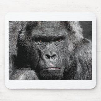 Angry gorilla mouse pad