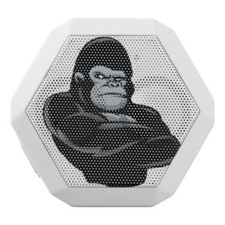 angry  gorilla white bluetooth speaker