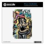 Angry Graffiti Man iPhone 3 Skin