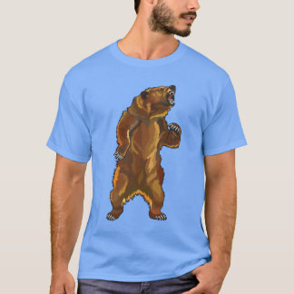angry grizzly bear T-Shirt