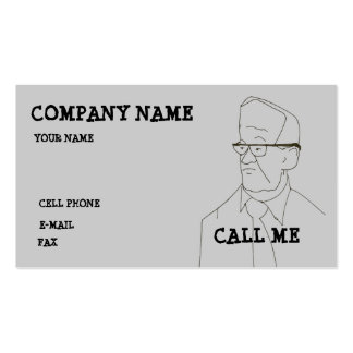 ANGRY GUY - BUSINESS CARD