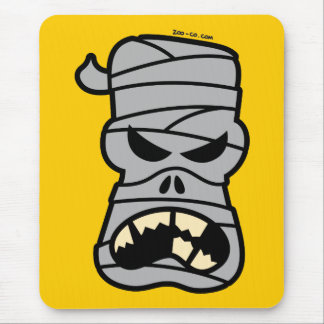 Angry Halloween Mummy Mouse Pad