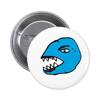 angry head pin