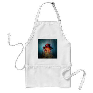 Angry jelly fish adult apron