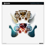 Angry jelly fish PS3 controller decal