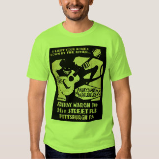 Angry Johnny @ 31st Street Pub T Tee Shirt