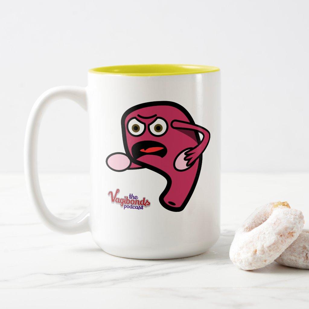 Angry Katee 15oz Mug
