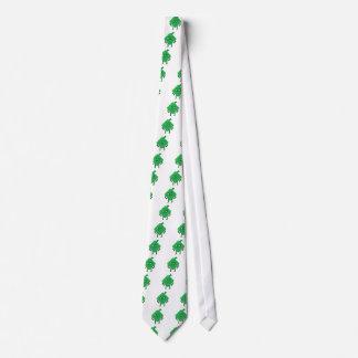 angry ketupat neck tie