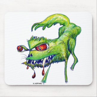 """Angry Kitty"" Mouse Pad"