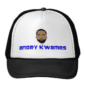Angry Kwames logo Mesh Hat