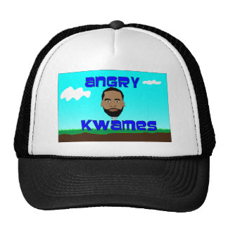 Angry Kwames Title Page Logo Hat