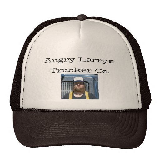 Angry Larry's Trucker Co. Mesh Hat