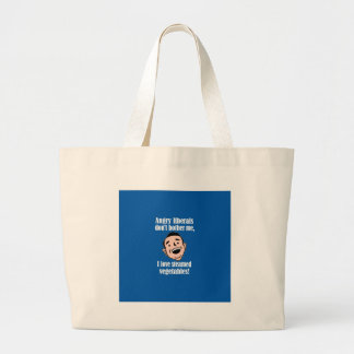 Angry liberals vs. steamed vegetables bag