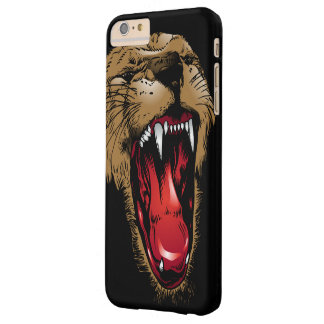 Angry Lion Face Barely There iPhone 6 Plus Case