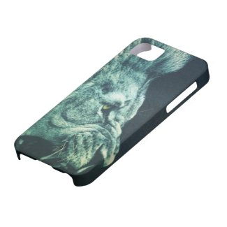 Angry Lion iPhone 5 Case