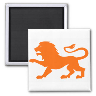 Angry Lion Magnet
