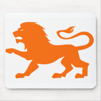 Angry Lion Mouse Pad