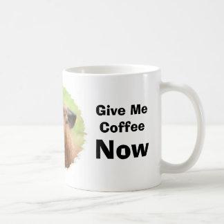 Angry Llama Coffee Humor Funny Mug