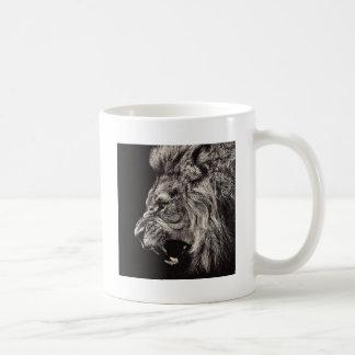 Angry Male Lion Coffee Mug