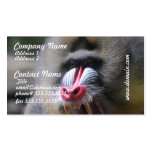 Angry Mandrill Business Cards