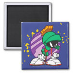 Angry Marvin 2 Inch Square Magnet