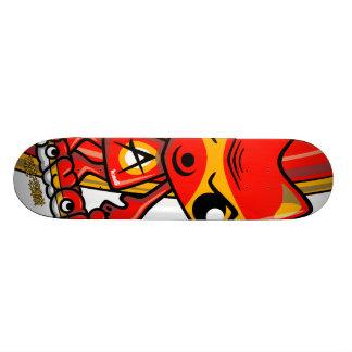 Angry Mascot Skate Board Deck
