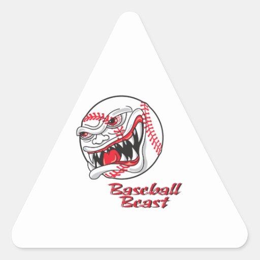 angry mean baseball vaseball beast stickers