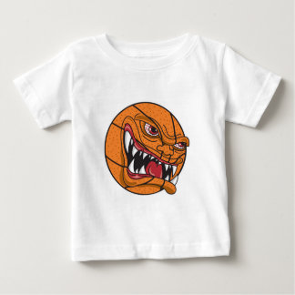 angry mean basketball baby T-Shirt