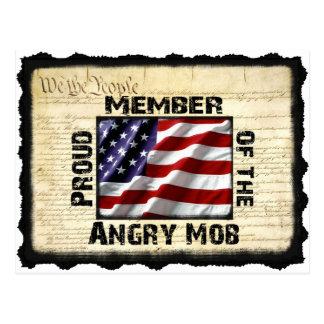 Angry Mob Gear Postcard