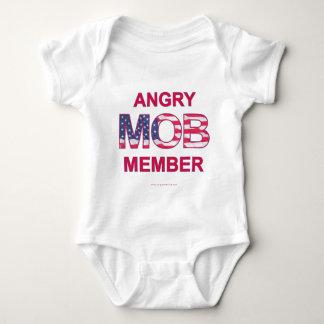 Angry Mob Member Baby Bodysuit