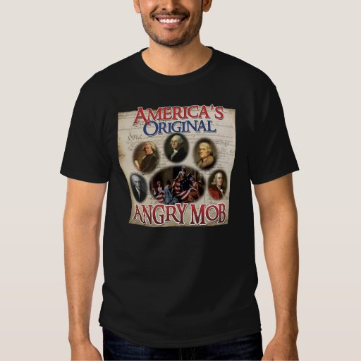 Angry Mob. The Originals. T Shirt