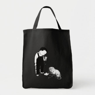 Angry Moles Eat Ice Cream Too Tote Bags