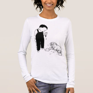 Angry Moles Eat Ice Cream Too Long Sleeve T-Shirt