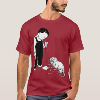 Angry Moles Eat Ice Cream Too T-Shirt