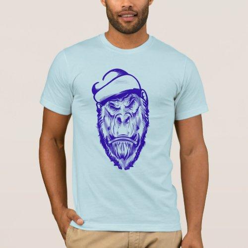 angry monkey T_Shirt