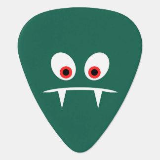 Angry monster guitar pick