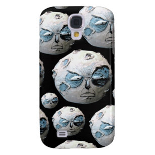 Angry Moon, Samsung Galaxy S4 Case