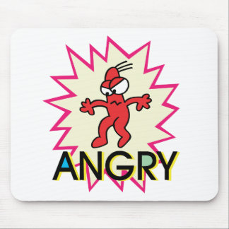 Angry Mouse Pad