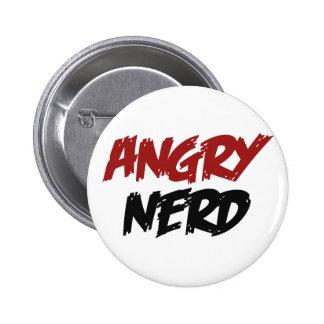Angry Nerd Pin