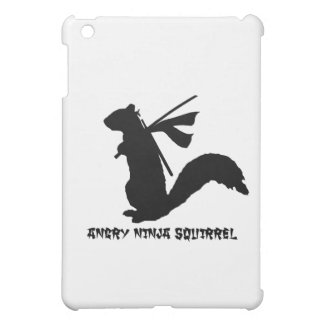Angry Ninja Squirrel Collection Cover For The iPad Mini