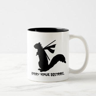 Angry Ninja Squirrel Collection Mug