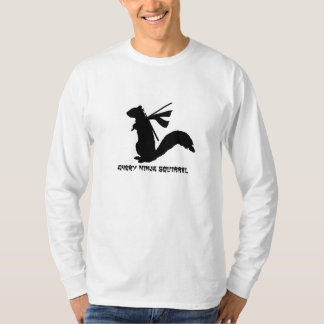 Angry Ninja Squirrel T-Shirt