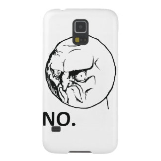 Angry No Comic Face Galaxy S5 Cover