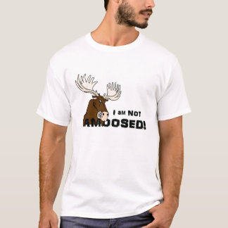 Angry Not Amoosed Moose T-Shirt
