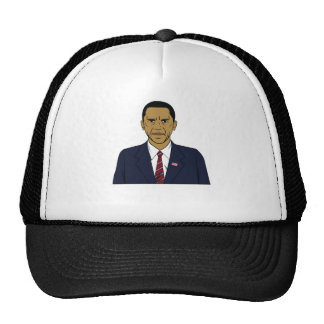 Angry Obama Trucker Hat