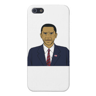Angry Obama iPhone SE/5/5s Cover