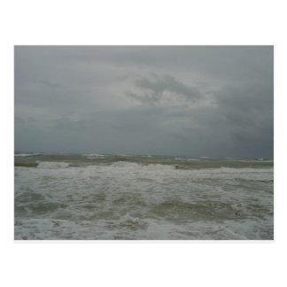Angry Ocean Postcard